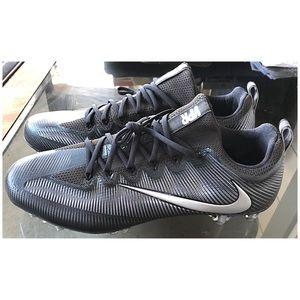 Nike Shoes - Nike VPR Black & Gray Men's Cleats NWOT